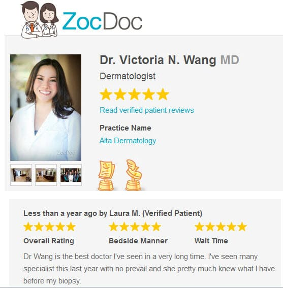 patient review from dana_point